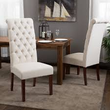 Tufted Leather Dining Room Chairs Leather Tufted Chair Design Ideas In White Color Chaxinet