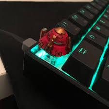 <b>Mobile Suit</b> Gundam Exia Crimson GN Drive Artisan Keycap Cherry ...