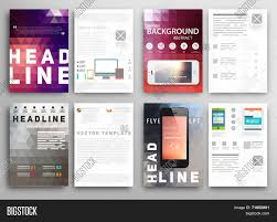 abstract triangle geometric vector brochure template flyer layout abstract triangle geometric vector brochure template flyer layout flat style infographic elements