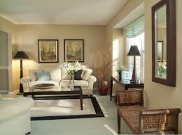 Large Look Living Room With Bright And Beige Color Combination Casual Design Walls  I