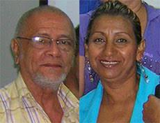 """OSCAR DAGOBERTO GUZMAN Y MARITZA RIVAS GONZÁLEZ, Profesores de la Universidad Bolivariana de Venezuela, Sede Monagas. """"Para comunicarnos es necesario usar - 20100703154024-dagoberto-y-maritza"""