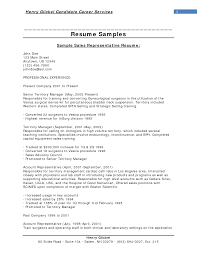 Example Resume  Nice Sales Objectives For Resume With Senior Teritory Manager And Professional Expereince      Binuatan