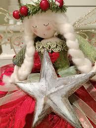 Christmas Tree Top <b>Fairy</b> - Nordic red & <b>green</b> | Favorite dolls ...