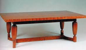 dining table art deco rosewood rectangular dt106 by jacques emile ruhlmann art deco rosewood dining
