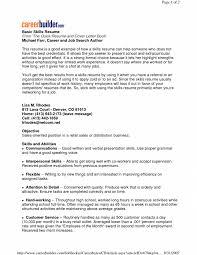 add skills to resume resume examples skills section how to write a skills section resume examples example of skills on resume for customer service example of skills on
