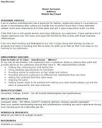 examples of hair stylist resumes  socialsci cohairdresser cv example resume hairstylist resume examples