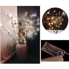 5pcs Willow <b>Branch Lamp</b> Party Home 20 <b>Led Lights</b> Decor Xmas ...