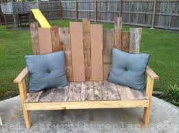15 diy outdoor pallet bench pallet furniture plans build pallet furniture plans