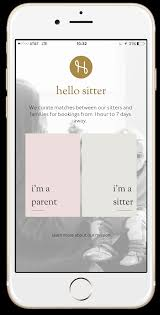 babysitter app hello sitter available in the apple app store article continues below advertisement