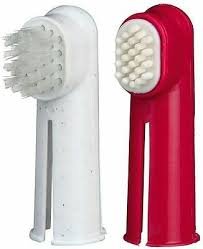 Trixie Finger Toothbrush Set <b>Dogs</b> & Cats Toothbrush & Massage ...