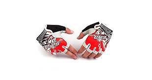 Gym Training Sports <b>semi finger gloves</b> Palm filled <b>silicone</b> for body ...