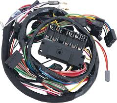 mopar parts electrical and wiring wiring and connectors 1966 charger under dash wire harness
