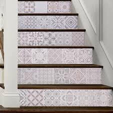 3d Arabia <b>Europe Pattern Tile Wall</b> Stairs Stickers Pvc Removable ...