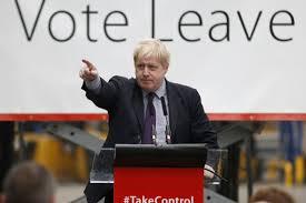 Risultati immagini per boris johnson e la brexit