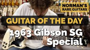 <b>Guitar</b> of the <b>Day</b>: 1963 <b>Gibson</b> SG Special | Norman's Rare <b>Guitars</b> ...