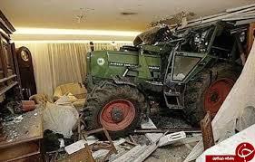 نتیجه تصویری برای عجیب ترین تصادف ها