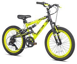 "BCA 20"" Savage <b>Boy's</b> Mountain Bike, <b>Yellow</b>/Black - Walmart.com ..."