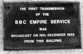 「bbc empire service in 1932」の画像検索結果