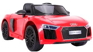 <b>Электромобиль Farfello JJ2198</b>, <b>Audi</b> R8 Spyder, красный