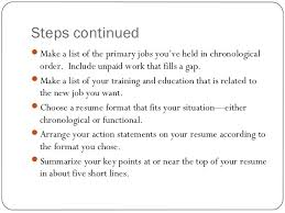 by stonevoices co how to make a perfect resume step by step