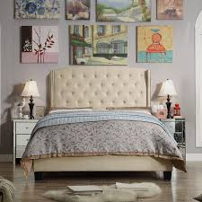 <b>Linen Upholstered Bed Frame</b> | Wayfair