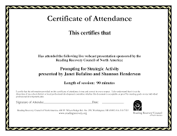 best images of format for certificate award outstanding sample certificate of attendance templates blank certificates paper sheet printale editable pdf document a part of under