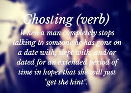Image result for ghosting someone