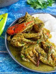 Tobago <b>Curry Crab</b> and Dumpling