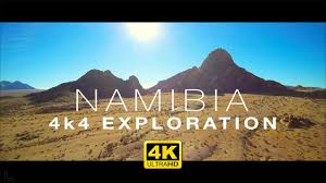 Amazing NAMIBIA in <b>4K</b> – <b>Aerial Drone</b> & 4x4 Exploration - YouTube