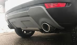 <b>Двойная выхлопная система</b> для Range Rover Evoque