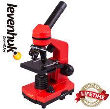 <b>Levenhuk</b> 2L Orange Microscope
