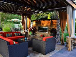 outdoor living room design design
