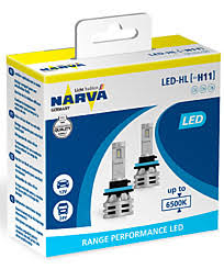 <b>Narva Range Performance</b> LED H11 6500K (2 шт.) 18048