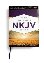 holman study bible nkjv edition jacketed hardcover b h all study features throughout the holman study bible nkjv edition are designed to put the emphasis where it must be on making the scriptures