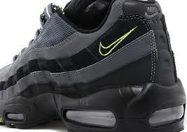 nike air max 95 black grey neon black grey nike air