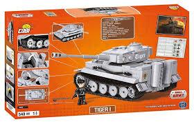 <b>Конструктор COBI</b> World Of Tanks Танк Tiger I 555 Элементов ...