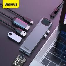<b>Baseus USB</b> C <b>концентратор usb</b>-<b>хаб USB</b> 3,0 HDMI адаптер для ...