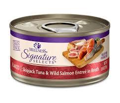 <b>Wellness CORE Signature</b> Selects Flaked Tuna & Salmon Grain ...