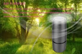 <b>Ultra quiet</b> Negative ion Air purifier <b>USB</b> Intelligent Aromatherapy Air ...
