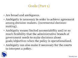 goals and objectives social welfare policy ii lecture slides this is only a preview