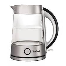<b>Чайник</b> Tefal <b>Glass Kettle</b> KI760D 2400 Вт 1,7 л серебристый ...