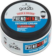 <b>Schwarzkopf got2b phenoMENal defining</b> cream for groomed style ...