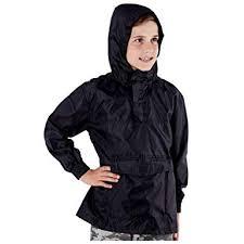 MyShoeStore <b>Kids</b> Unisex Light <b>Rain Jacket</b> Hooded Shower ...