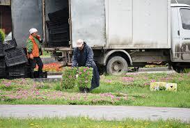 На озеленение и благоустройство Екатеринбург тратит по <b>160</b> ...