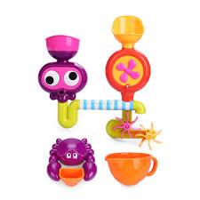 <b>Набор игрушек</b> для ванной <b>Happy Baby</b> EUREKA, на присосках ...