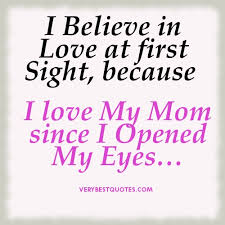I love my mom quote- Inspirational picture quote - Inspirational ...