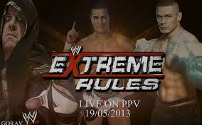 WWE Extreme Rules 2013 - May 19th 2013