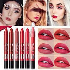 (Ready Stock) <b>MENOW</b> Lipstick <b>6</b>-<b>color</b> Matte Fog Surface Moisture ...