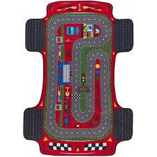 Купить <b>confetti Kids</b> Коврик Rugs Racer Anti-slip 10 мм 133х190 см ...