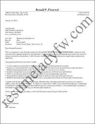 supervisor cover letter sample how  seangarrette cosupervisor cover letter